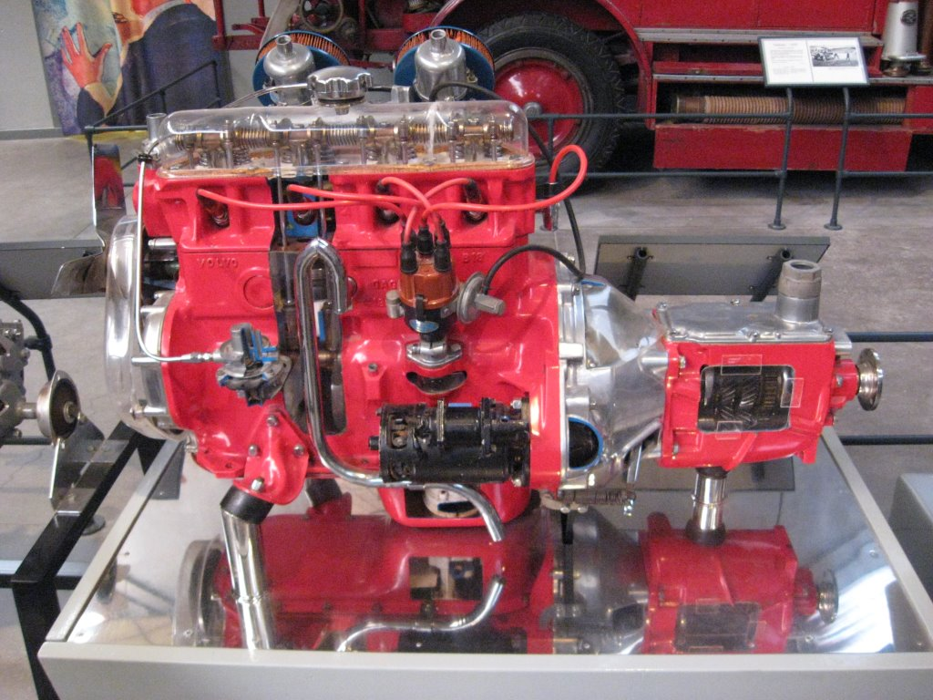 Volvos engine plant Skövde Sweden
